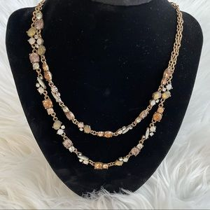 Maurices Layered Beaded Necklace